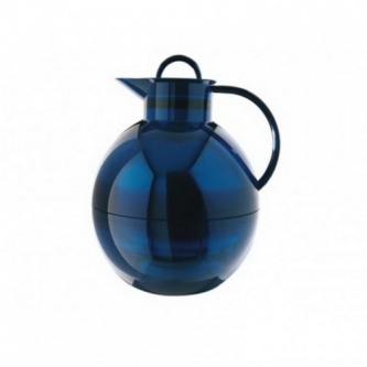 Термос-кувшин Alfi Shiny azur blue transparent 1,0L